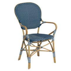 Paris Bistro Chairs Outdoor Wrought Iron Table And 4 Sika Design Isabell Arm Chair  Usa