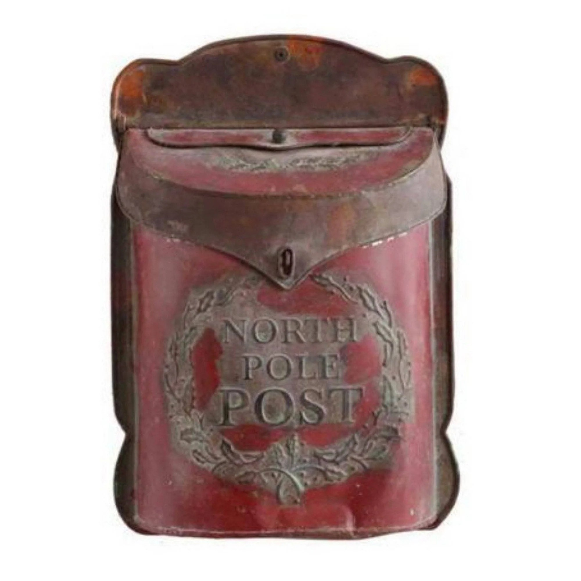 hight resolution of north pole letter box