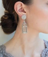 Iridescent Earrings - Abba Earrings in Iridescent by Loren ...