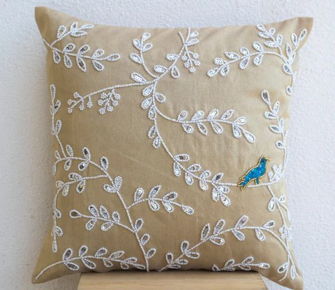 Buy Embellished Decorative Pillows Decorative Throw