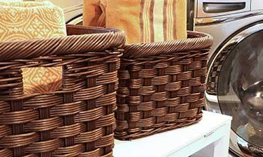 kitchen pantry storage top rated stoves wicker baskets, decorative baskets & woven | the ...