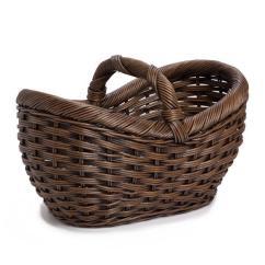Kitchen Pantry Closet Aid 6000 Hd Wicker Farmers Market Basket   The Lady