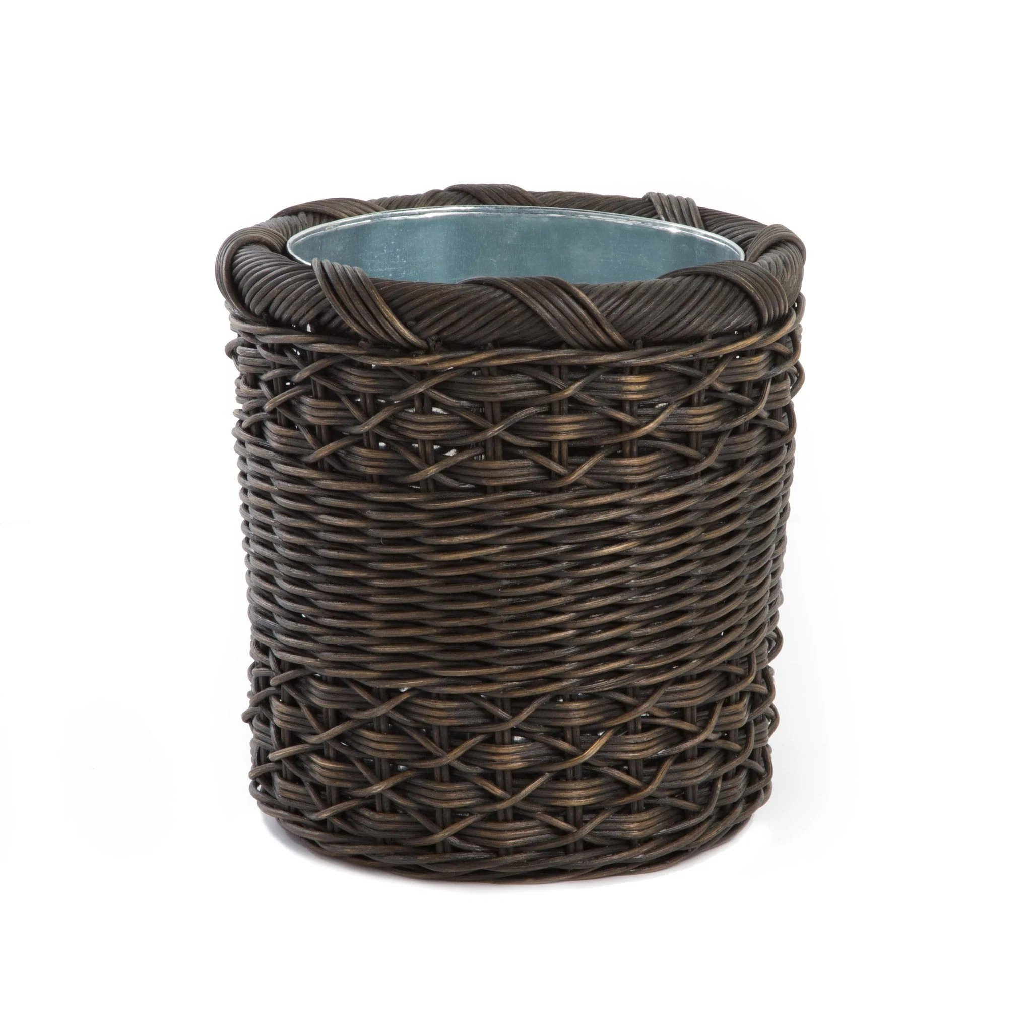 Wicker Waste & Recycling Cans Baskets And Bins