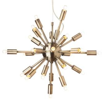 Sputnik Brass Pendant Light