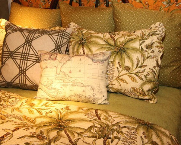 Barbados Sand tropical quilt from CF best prices