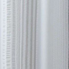 Valances For Kitchens Inexpensive Kitchen Table Sets Santorini Textured Stripe Shower Curtain By Croscill ...