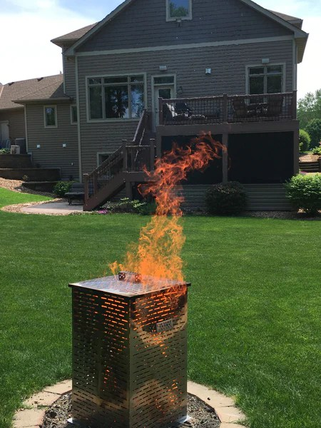 High Grade Large Or Extra Large Stainless Steel Burn