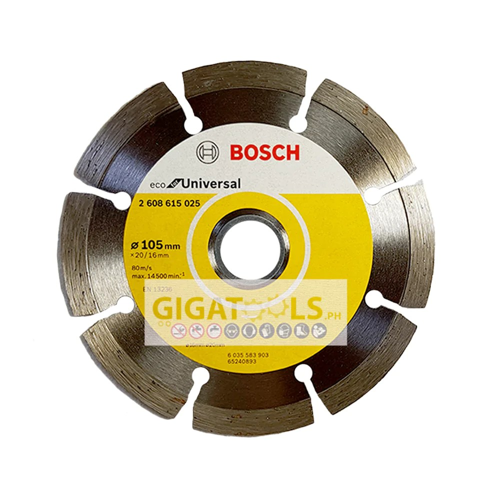 bosch 4 diamond cutting disc universal for concrete stone and tiles 2608615025