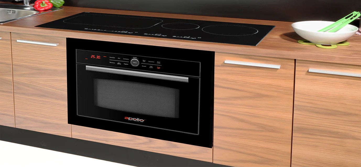hight resolution of under the countertop or island installation with companion cooktiop