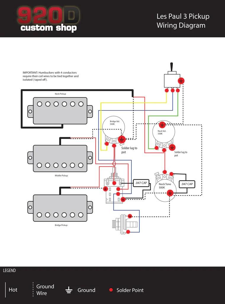 3 pickup les paul wiring diagram bmw x5 radio diagrams black beauty sigler music