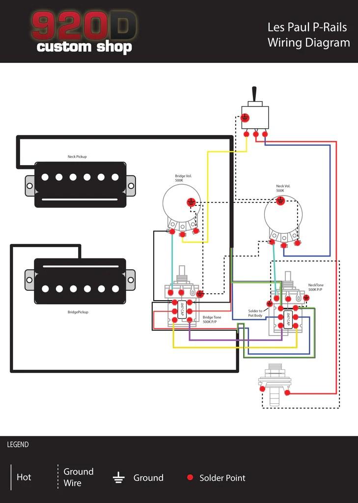 Diagrams  Les Paul PRails – Sigler Music