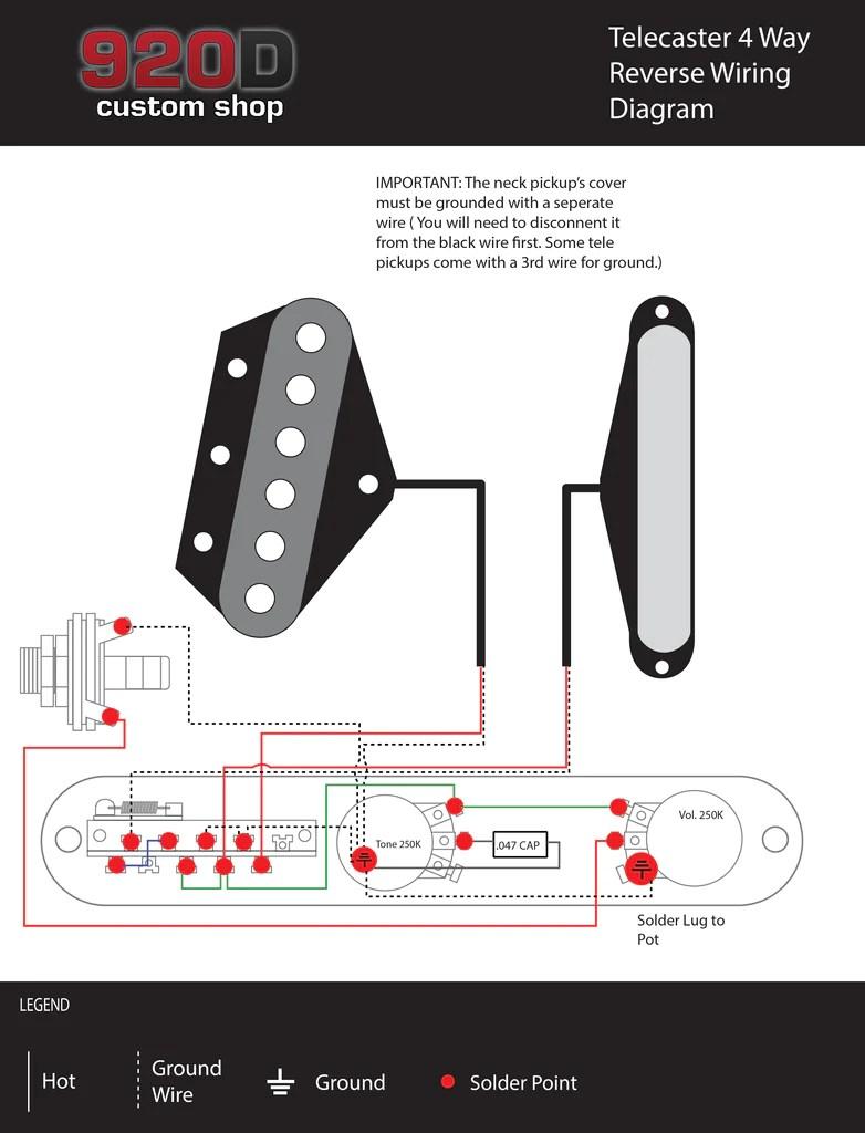 diagrams telecaster 4 way reverse [ 782 x 1024 Pixel ]