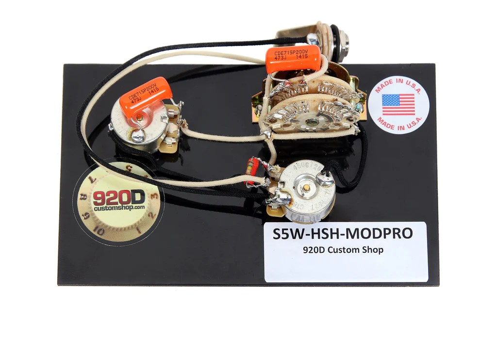 920D Custom S5WHSHMODPRO Suhr Modern Pro Style Wiring Harness for HS – Sigler Music