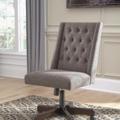 Tufted Desk Chair Splat Mats For High Chairs Light Brn Office Austin S Furniture Outlet