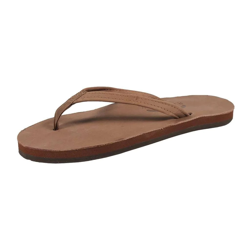 Rainbow Sandals Women' Thin Strap Premier Leather Single