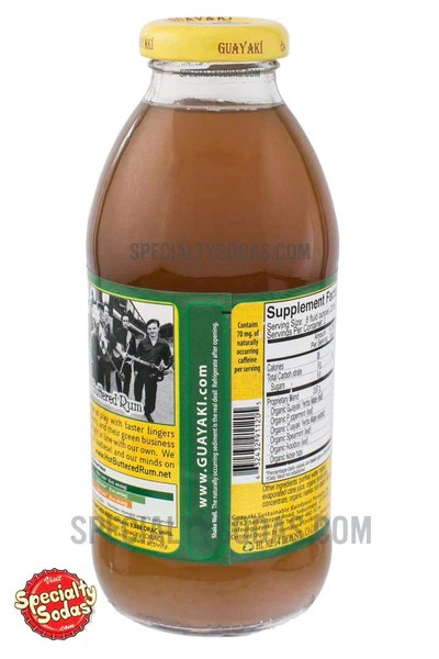 Guayaki Yerba Mate Pure Empower Mint 16oz Glass Bottle ...