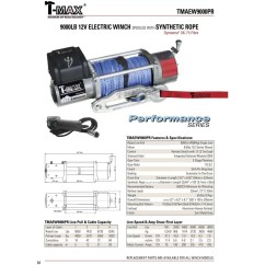 T Max 9000 Winch Wiring Diagram For Security Camera Tmax Tmaew9000 By Tmaew9000pr  Winchworld