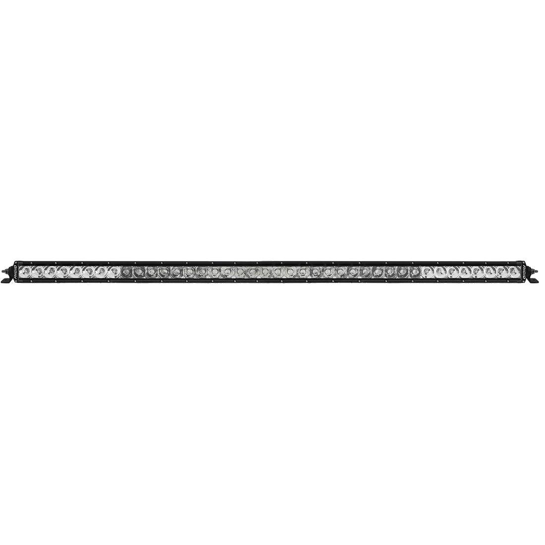 hight resolution of rigid industries sr series 40 led spot flood combo light bar main line overland
