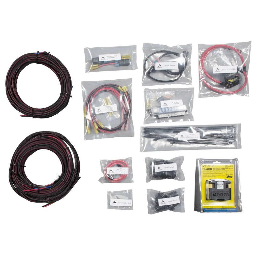 hight resolution of adventure wagon sprinter cabin electrical harness bundle 144 170 main line overland