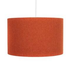 Burnt Orange Rocking Chair Cushions Ergonomic Petite 30cm Drum Pendant Lamp Shade  Hunkydory Home