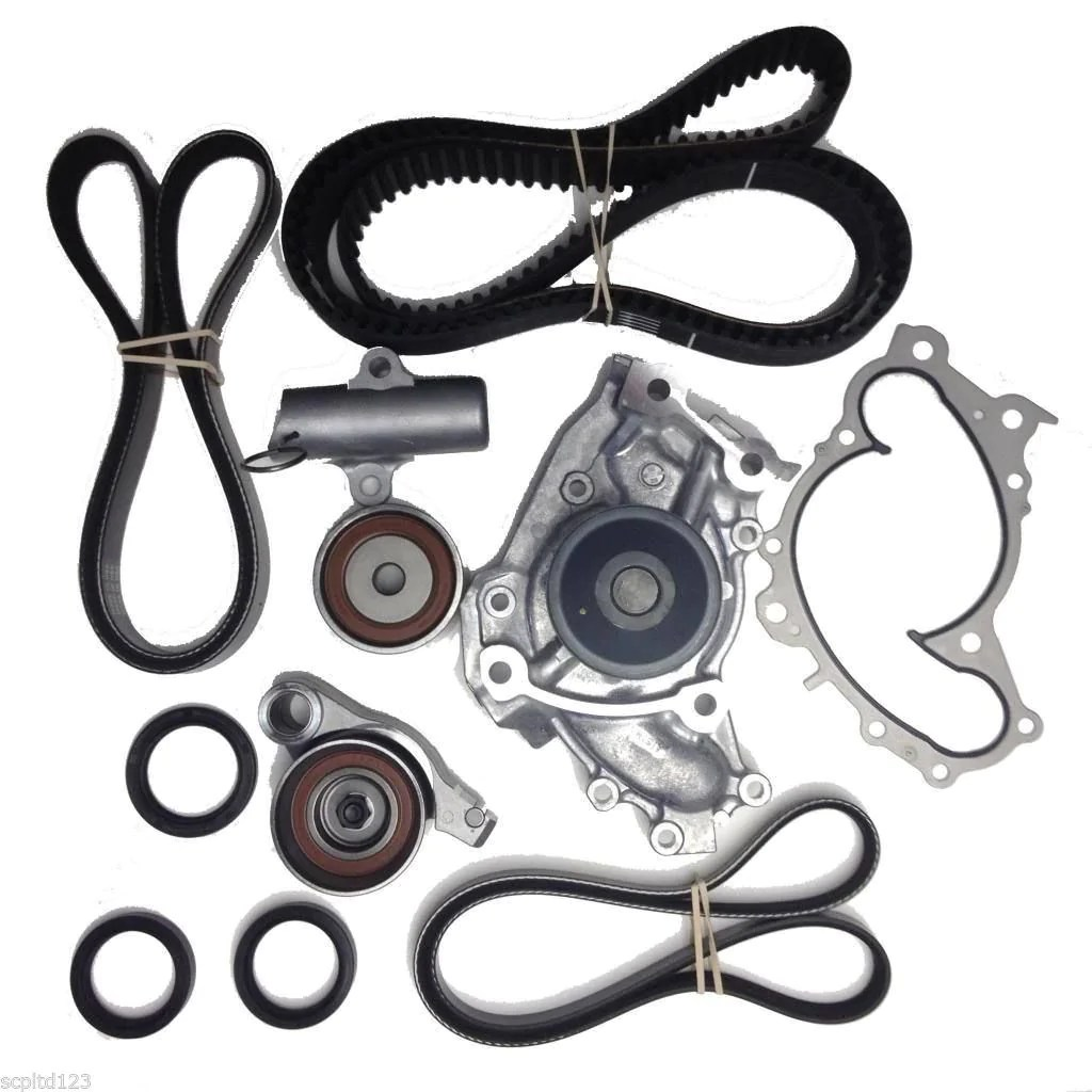 timing belt kit toyota camry 2002 2006 v6 engines 1mzfe and 3mzfe with mitsuboshi brand  [ 1024 x 1024 Pixel ]