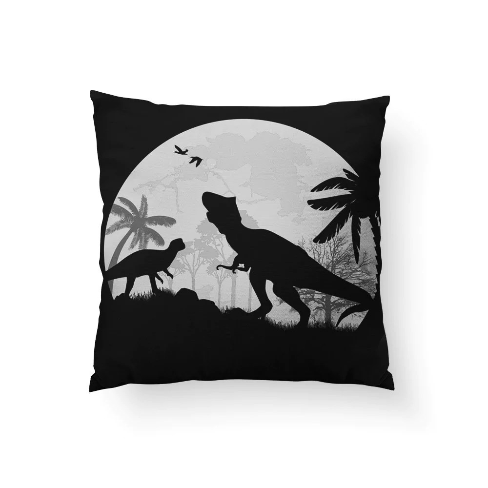 Halloween Throw Pillows Halloween Decor Dinosaur Pillow Jurassic Pa Sharp Shirter
