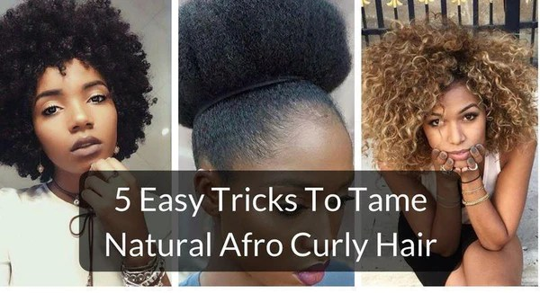 5 Easy Tricks To Tame Natural Afro Curly Hair Grass Fields