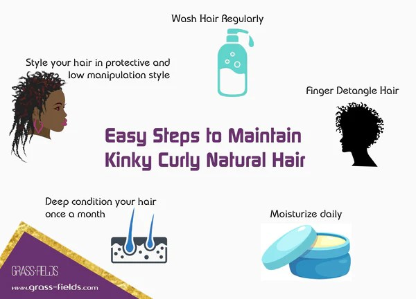 How To Wash And Maintain Your Own Kinky Afro Curly Natural Hair