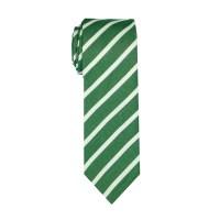 Green Stripe Cotton Tie (Brooklyn) - SprezzaBox