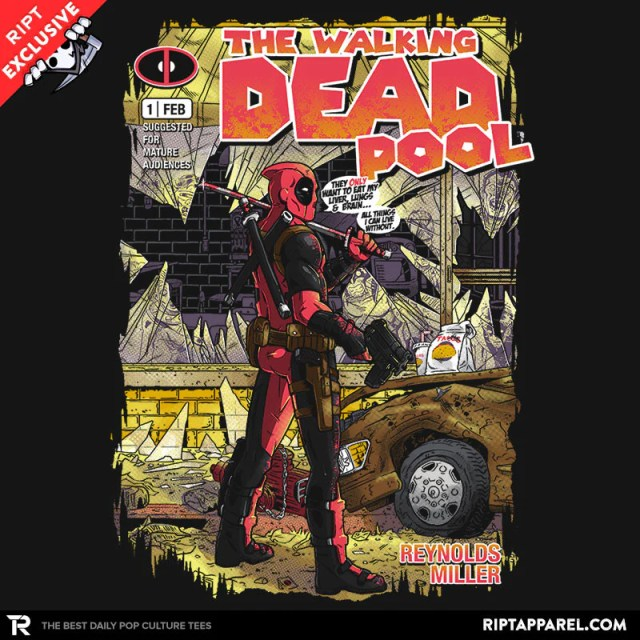 Deadpool Tshirt from Ript Apparel