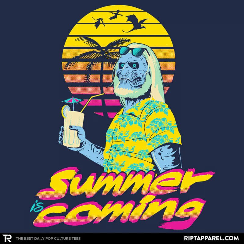 Summer Is Coming Mens T Shirts Ript Apparel