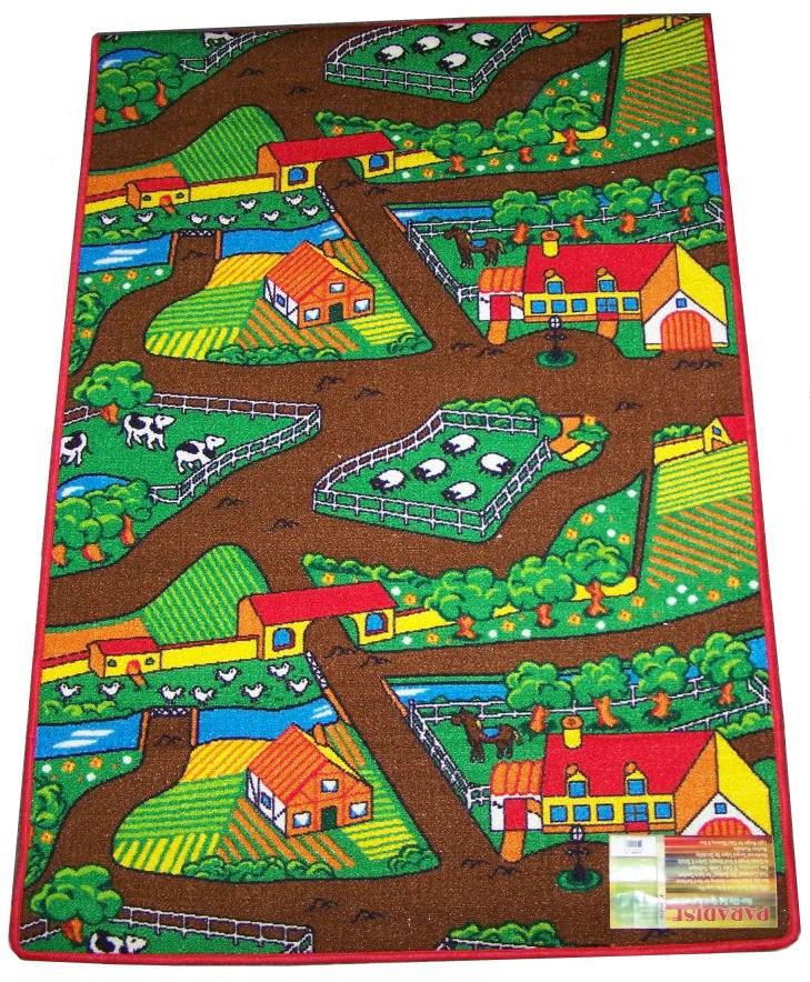 farm2 Farm Yard Play Rug  Action Toys