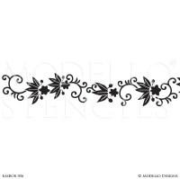 Custom Border Stencils for Painting Walls & Ceilings ...