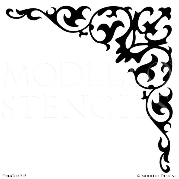 Damask Clipart Ornate