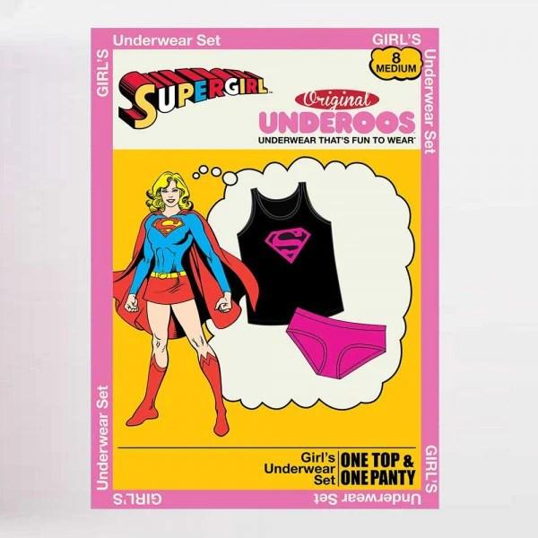 supergirl girl s tank