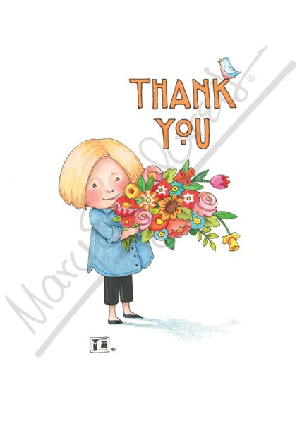 thank you cards mary