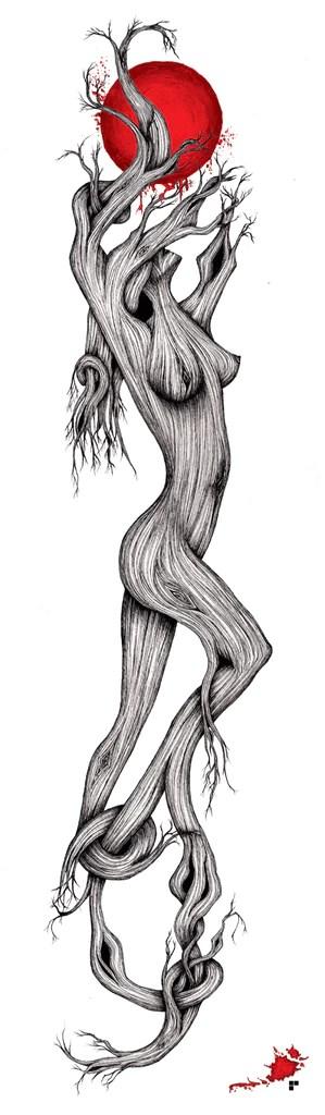 Tree Woman Art : woman, Woman, Gallery