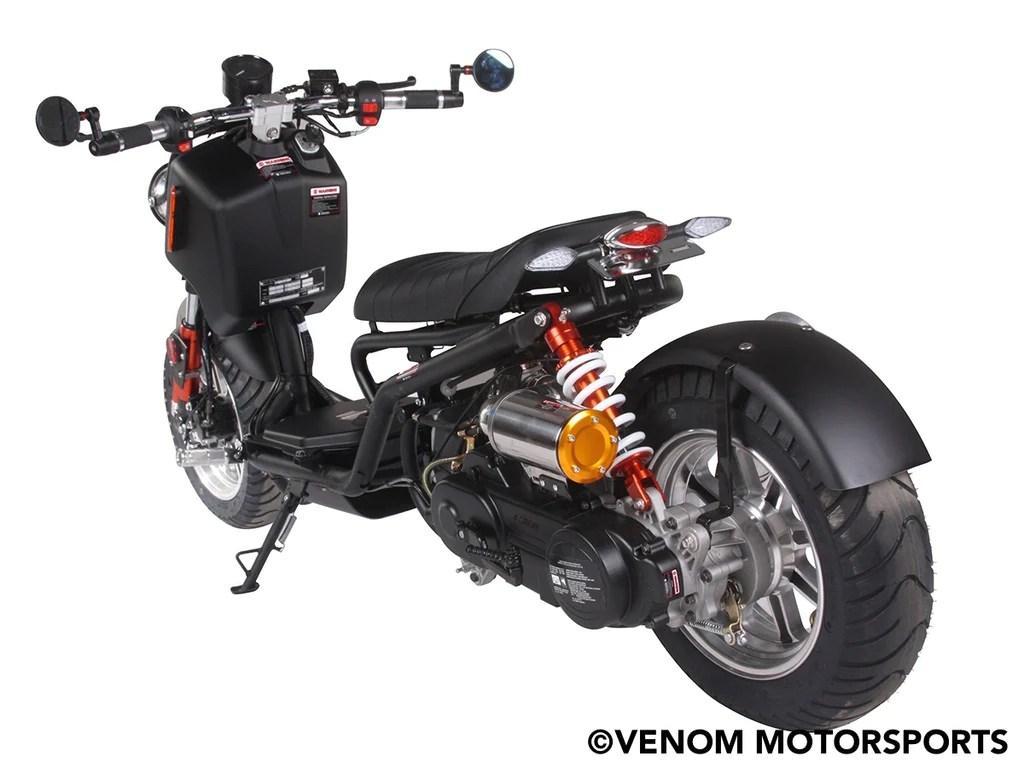 50cc maddog generation iv scooter street legal  [ 1024 x 768 Pixel ]