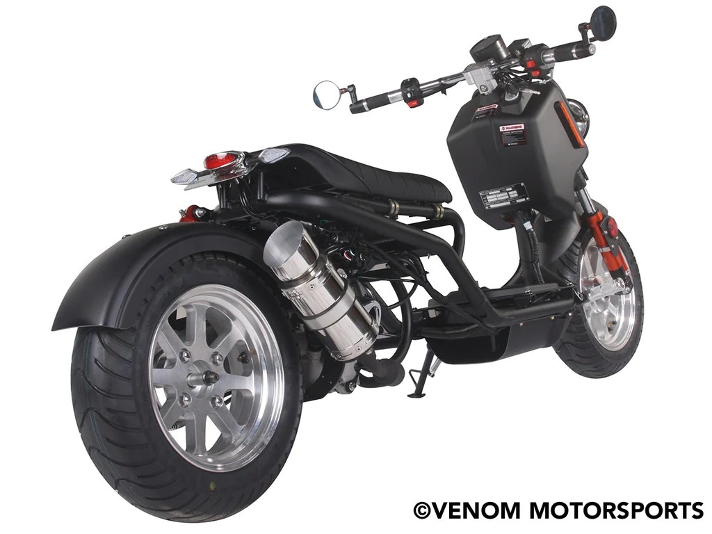 small resolution of 50cc maddog generation iv scooter street legal