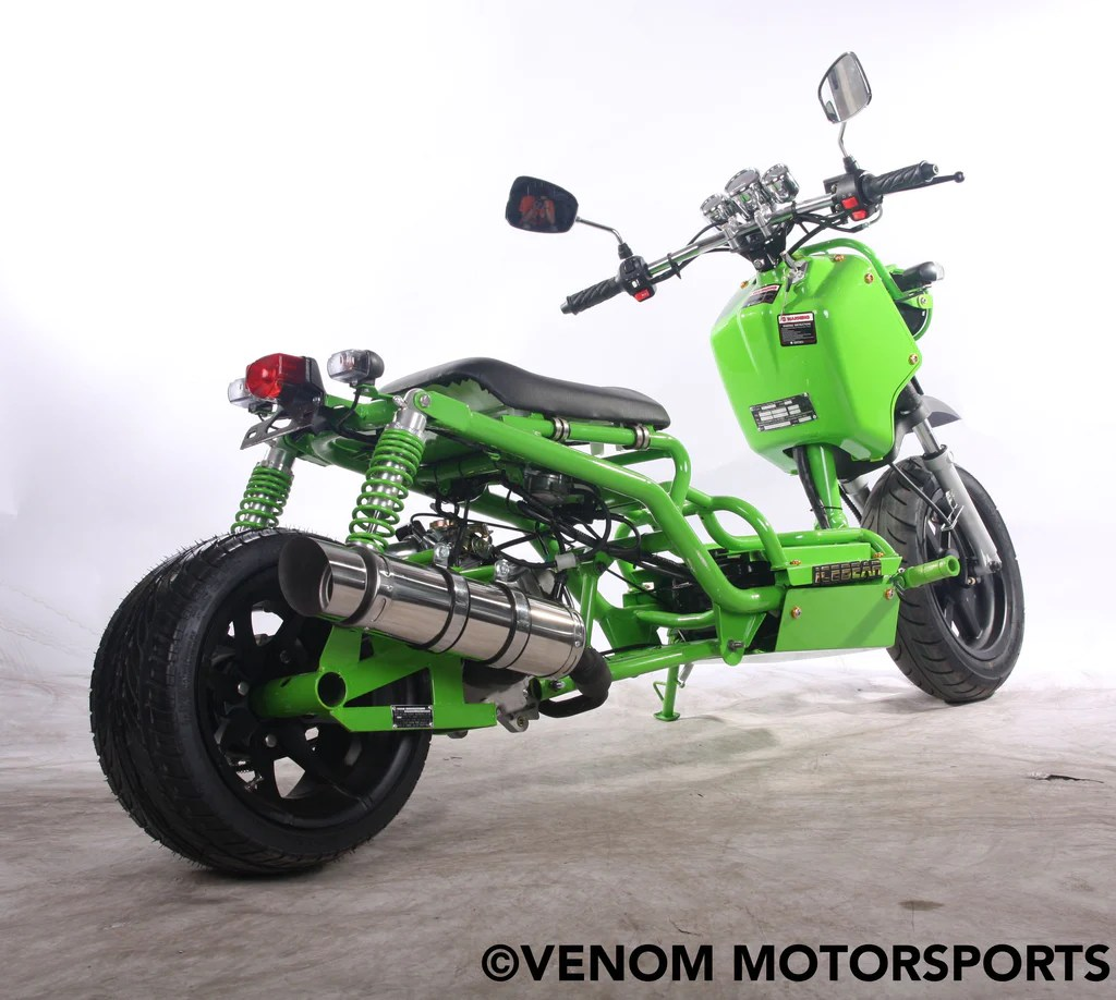 hight resolution of 150cc maddog generation i scooter street legal