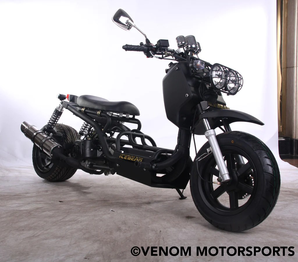 small resolution of  50cc maddog generation i scooter street legal