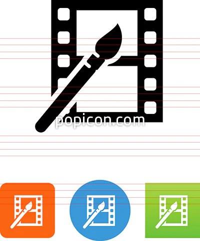 movie animation icon