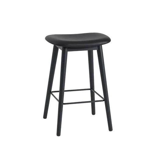 Muuto Fiber Barstool with Backrest SH65cm 木纖系列 中島椅 / 高腳椅 - 高背款 金屬椅腳 皮革Luxury Life 傢具. 燈飾 & 生活配件