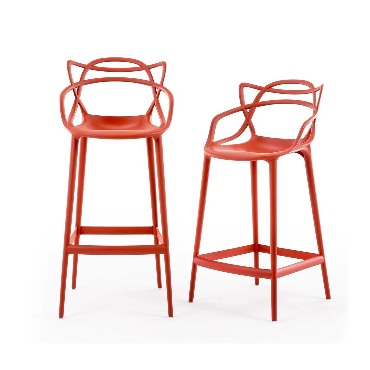 Kartell Masters Stool 大師 高腳椅 - Luxury Life 傢具, 燈飾 & 生活配件