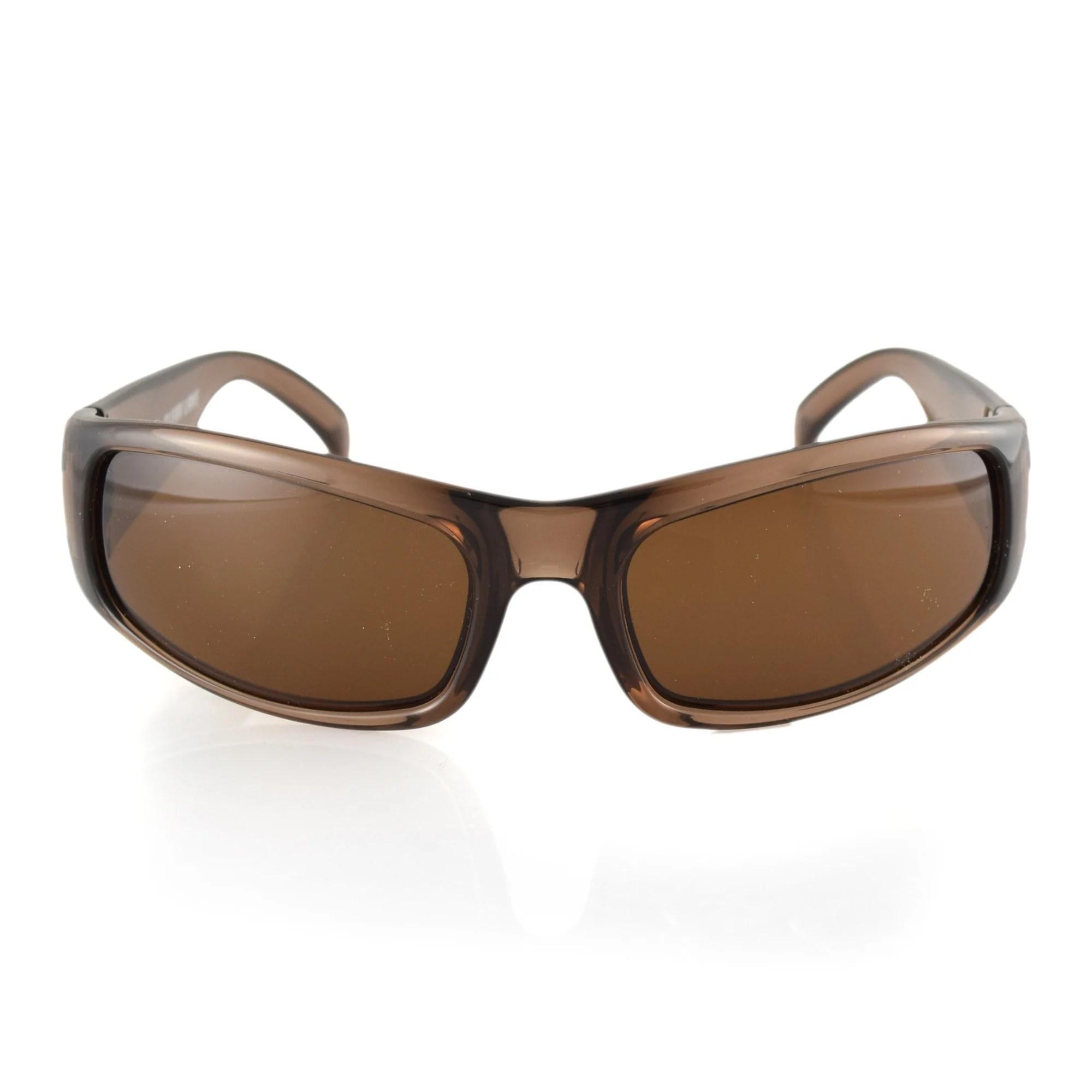 Manatee Sunglasses Rootbeer Frame Brown Polarized Lenses ...