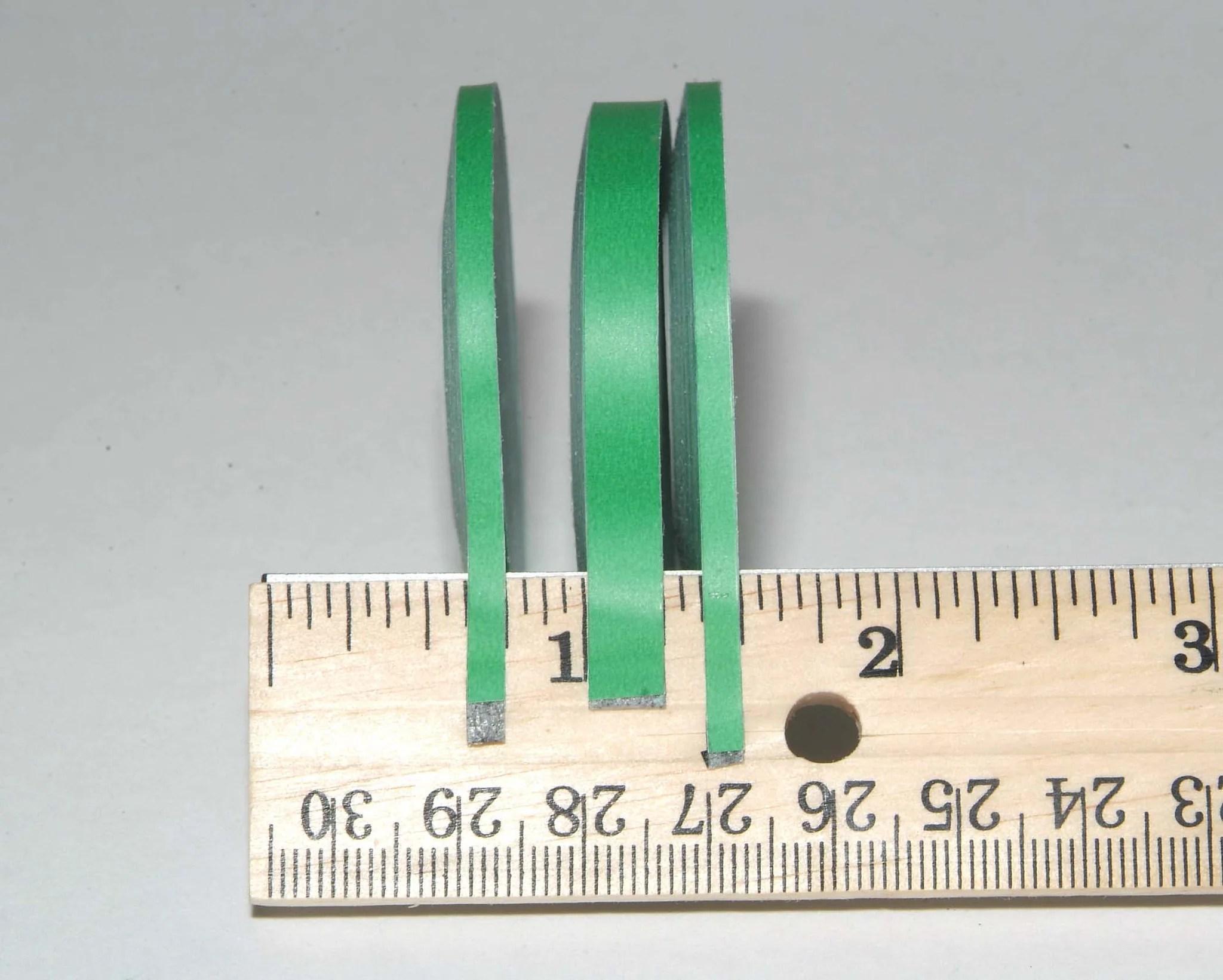Green matte graphic chart tape   also label rh graphictapeandlabel