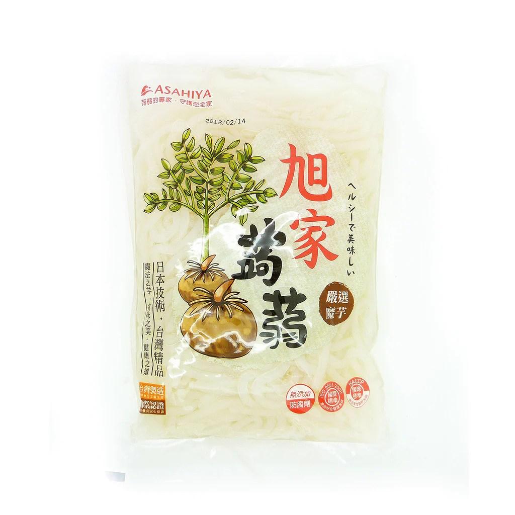 Asahi - Ya Konjac Noodles|旭家蒟蒻雪麵 | Batata Greens Veg eShop|甘薯葉素食eShop