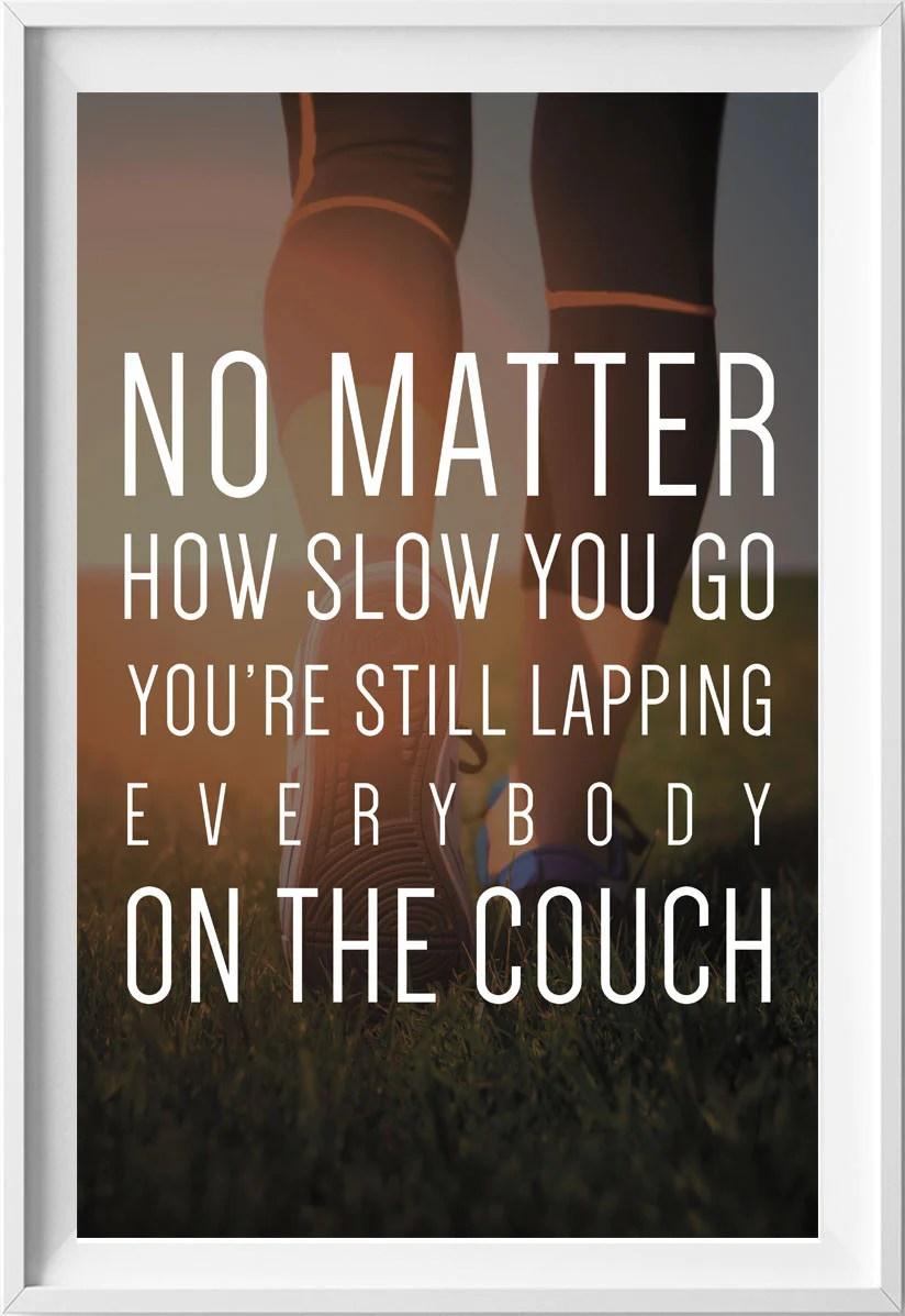 Fitness Motivational Poster Gym Poster Motivational Poster Quotatium