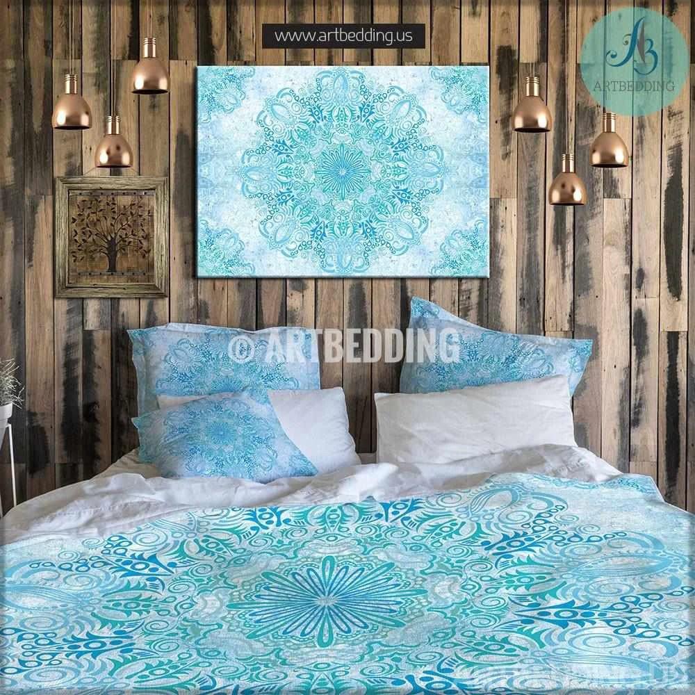 bohemian bedding boho mandala