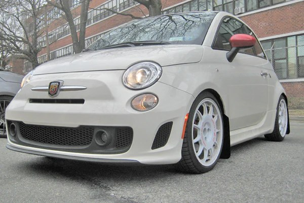 Rally Armor Urethane Mud Flaps, Fiat Models Team